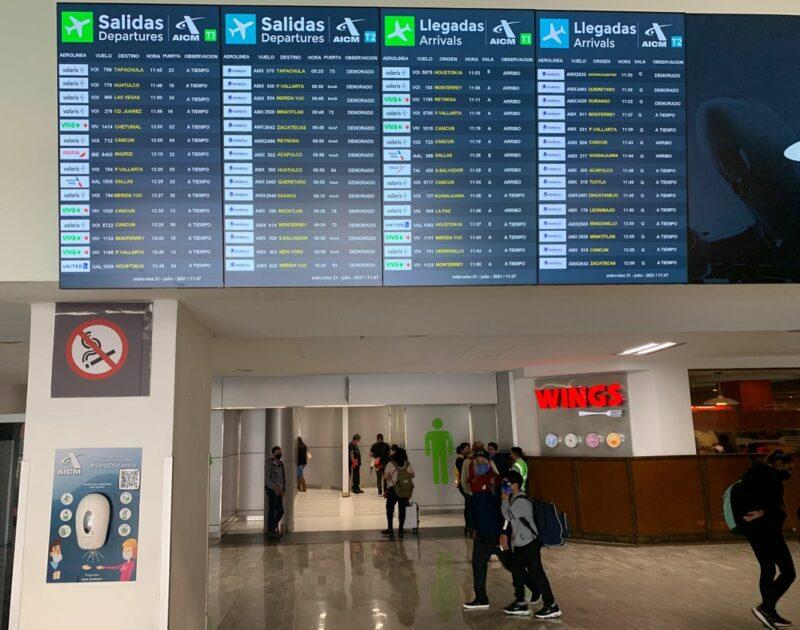 Falla de radares paraliza vuelos entre EU y México: AICM