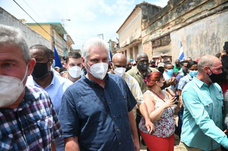 """EU ha fracasado en su empeño por destruir a Cuba"""", afirma el presidente Miguel Díaz-Canel"""