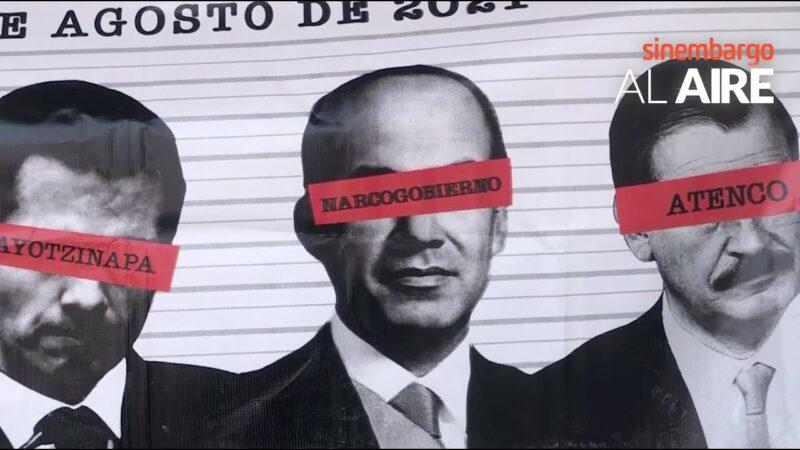 Video: Juicio a ex presidentes neoliberales: Felipe Calderón. Y entonces empezó una guerra. Muertos, desaparecidos. El horror…