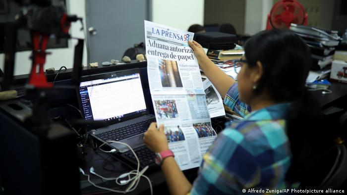 La Prensa, principal diario opositor de Nicaragua, deja de imprimirse por falta de papel que retiene el gobierno