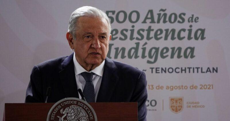 Videos: A 500 años de la caída de la Gran Tenochtitlán, AMLO pide perdón por la catástrofe de la Conquista española
