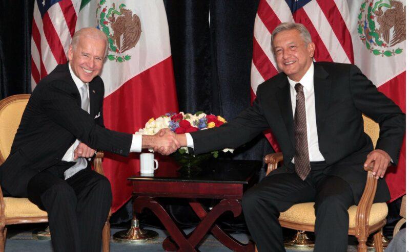 Acuerdan México y EU establecer ruta para reunión entre AMLO y Biden