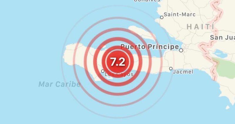 Videos: Terremoto de magnitud 7.2 sacude a Haití; autoridades emiten alerta por tsunami