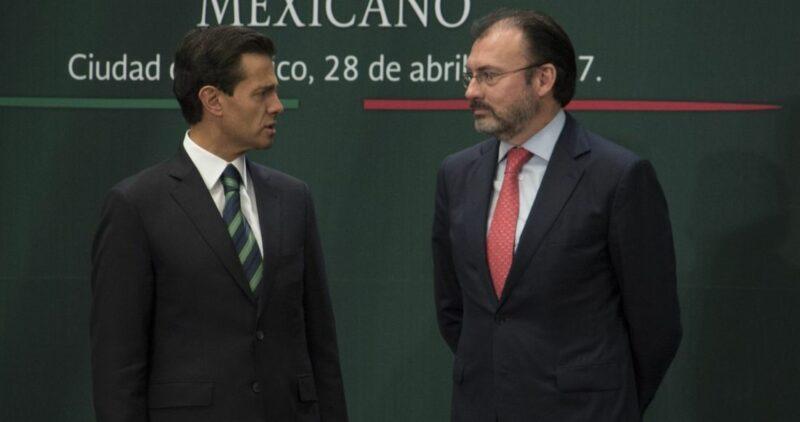 Que ahora sí van por Peña Nieto y Videgaray. Estarían en la misma causa que Anaya, Lavalle y otros