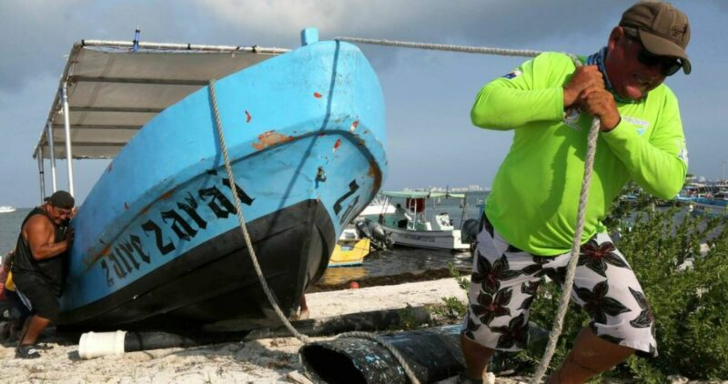 """Grace"" se degrada a tormenta tropical; no reportan víctimas. Quintana Roo reanuda labores"