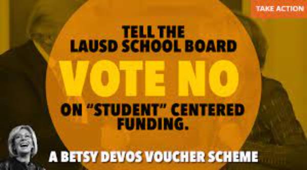 Videos: Maestros y padres rechazan el modelo Students Centered Funding que sigue pautas privatizadoras de Betsy DeVos, titular de Educación con Trump