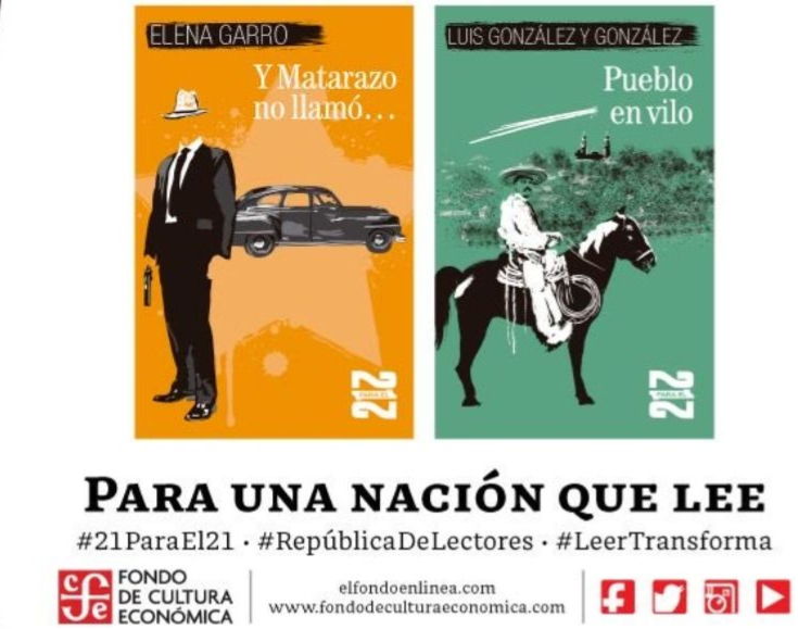 El gobierno mexicano regalará dos millones cien mil libros de Paz, Monsiváis, Garro y Azuela