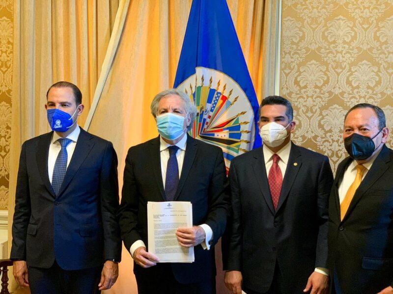 Oposición pide a OEA nueva declaración sobre elecciones del 6 de junio. AMLO afirma que ese organismo ya emitió un dictamen sobre comicios diciendo que no ocurrió nada grave