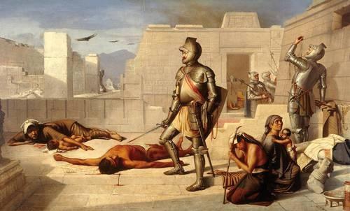 """Video:  """"Tenochtitlan, llena de cadáveres tras su caída"""""""