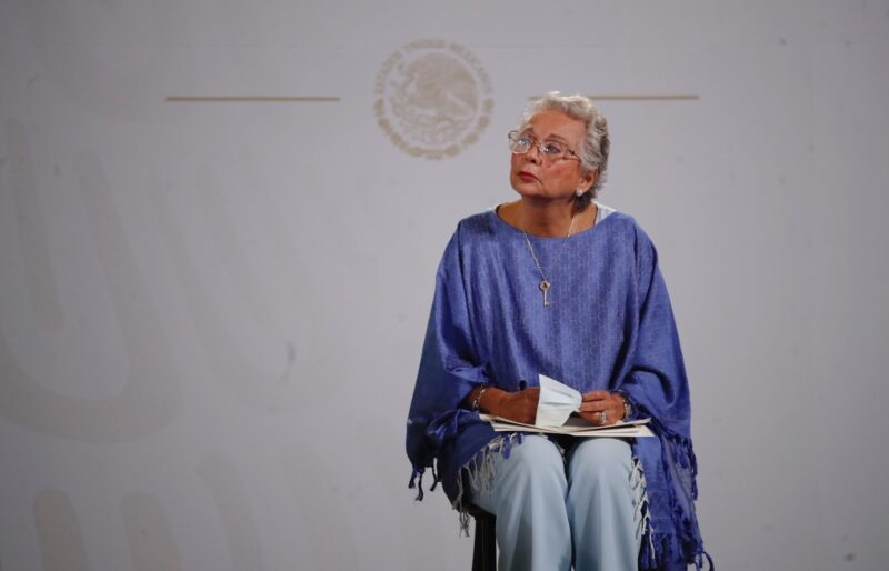 Olga Sánchez Cordero deja Gobernación para volver al Senado, del que puede ser presidenta. Sería sustituida por el gobernador tabasqueño, Adán Augusto López