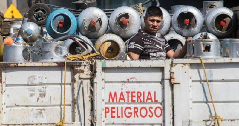 Gaseros del Valle de México anuncian paro de actividades por tope a precio de gas LP