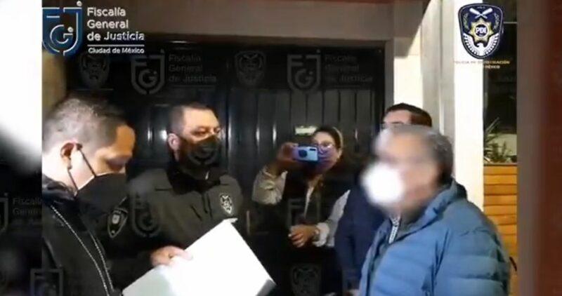 Ya fue detenido el diputado morenista Saúl Huerta, acusado de delito de violación equiparada, agravada