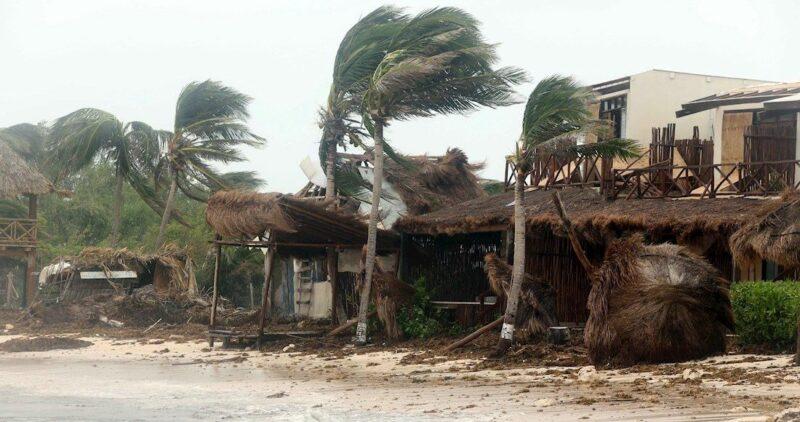 "Video: ""Grace"" podría intensificarse a huracán; se esperan fuertes lluvias en 5 estados"