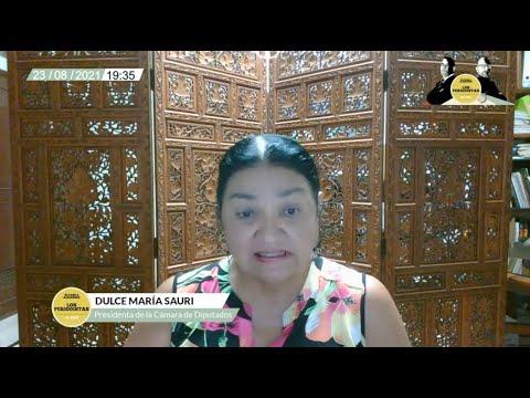 """Video: """"AMLO se quedó en los 70. Le gusta el presidencialismo autoritario"""", dice la priista Sauri Riancho, presidenta de la Cámara de Diputados"""