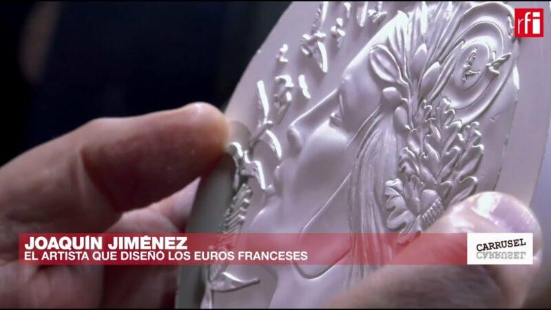 Video: Joaquín Jiménez, el arte del grabado de monedas