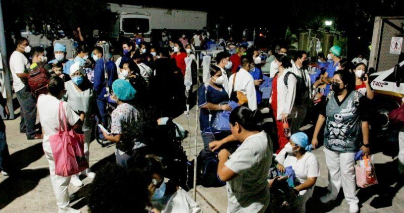 Ya son 210 réplicas por el terremoto de 7.1 de anoche en la capital mexicana y 4 entidades