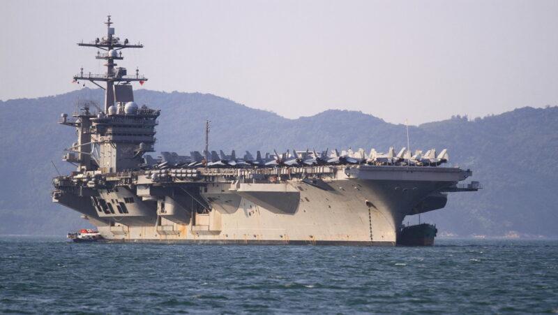 Video: El portaviones USS Carl Vinson, el primero en desplegarse con cazas furtivos F-35C, ingresa en el mar de la China Meridional