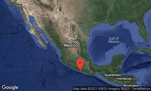 Sismo de 6.9 grados en la Ciudad de México. No se reportan mayores daños ni víctimas