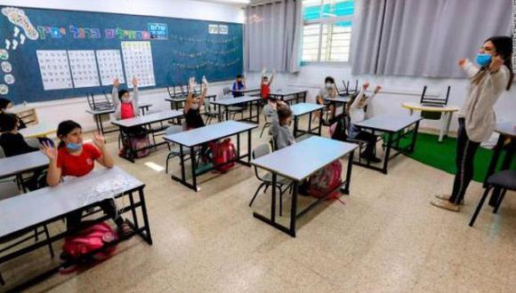En el primer día del ciclo escolar de clases presenciales en México asistieron 11.4 millones de estudiantes. Estaban convocados 20 millones