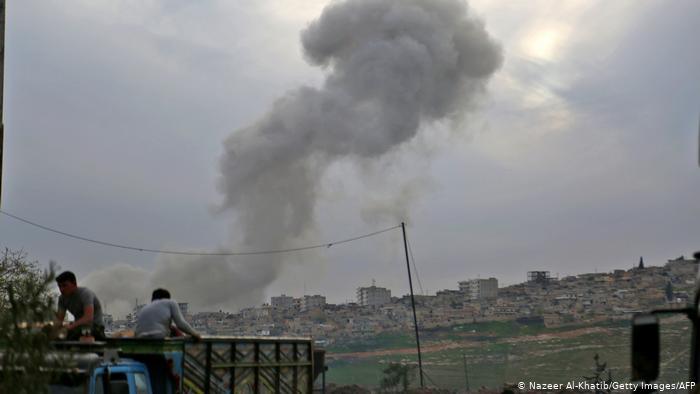 Bombardeo ruso en Siria deja 11 milicianos proturcos muertos