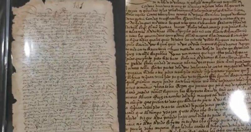 Video| México recupera carta de Hernán Cortes y más documentos históricos, anuncia Ebrard