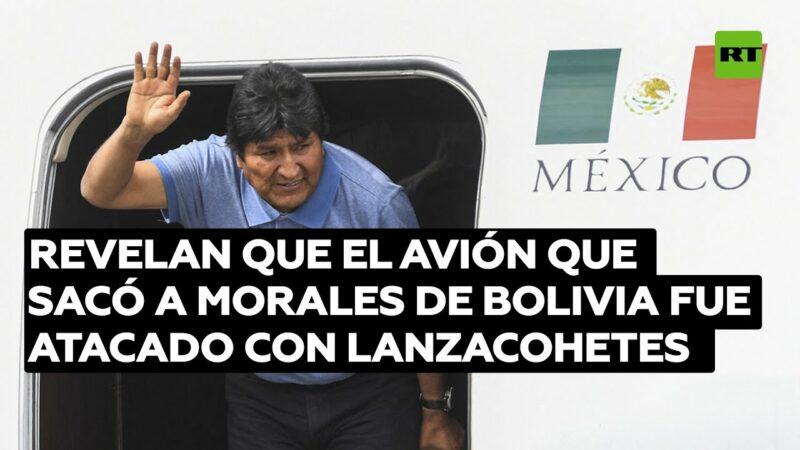 El avión mexicano que sacó a Evo Morales de Bolivia fue atacado con un lanzacohetes, revela el piloto que esquivó el explosivo