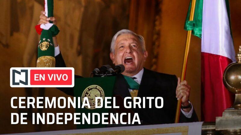#EnVivo: Ceremonia del Grito de Independencia