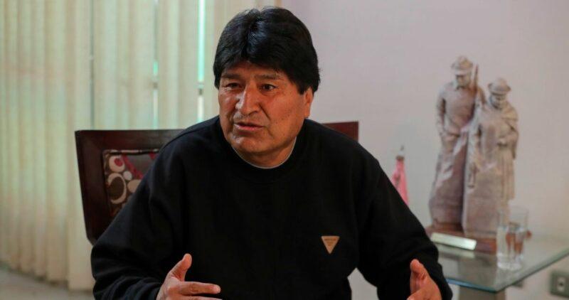 El ex presidente de Bolivia, Evo Morales, agradece a López Obrador haberle salvado la vida; cita el ataque al avión que lo rescató