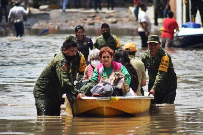 Video: 20 fallecidos y daños sin de gravedad en inundaciones en Tula, Ecatepec y los sismos en la Ciudad de México y cuatro entidades. Apoyo a damnificados: AMLO