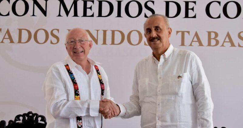 AMLO se respeta, pero EU seguirá luchando por la democracia de Cuba, afirma el nuevo embajador de EU en México, Ken Salazar
