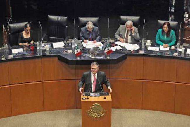 México no es muro de contención migratoria ni subordinado de EU, afirma el Canciller Marcelo Ebrard