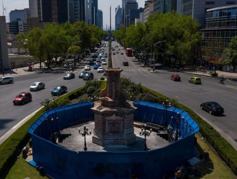 Estatua de mujer indígena sustituirá al monumento a Cristóbal Colón en la avenida Reforma de la CdMx
