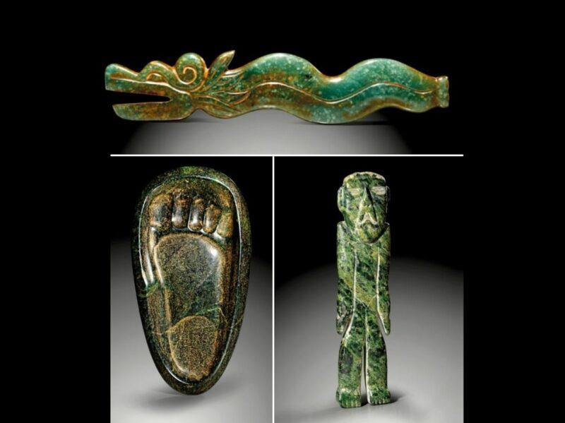 A subasta en Alemania, 67 lotes de arte precolombino traficadas o saqueadas de México