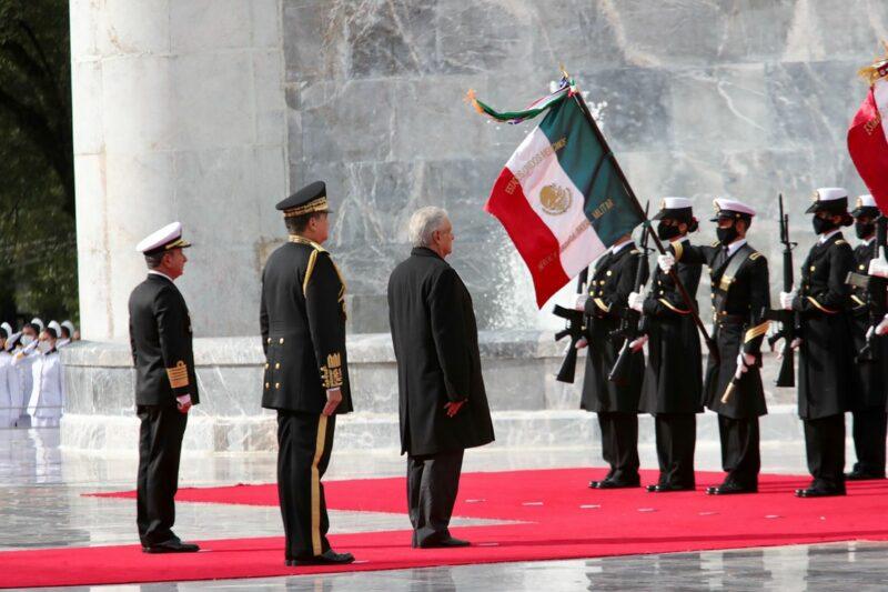 Fuerzas armadas refrendan su lealtad al gobierno y pueblo mexicano