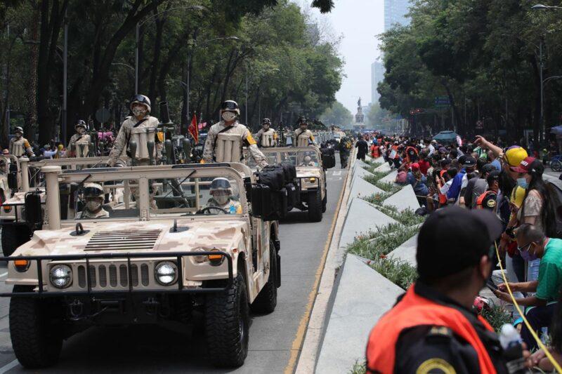 La actual transformación nacional se inicia por vía democrática, destaca el Secretario de la Defensa Nacional, general Luis Cresencio Sandoval