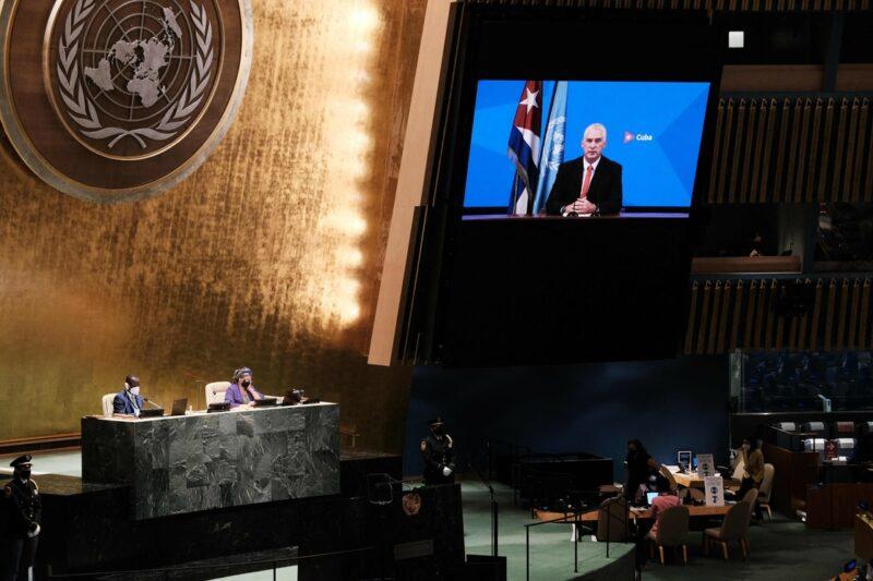 Cuba llama en la ONU a decidir entre solidaridad para bien colectivo o las políticas que conducen a la crisis planetaria, con pandemia, cambio climático y desigualdad