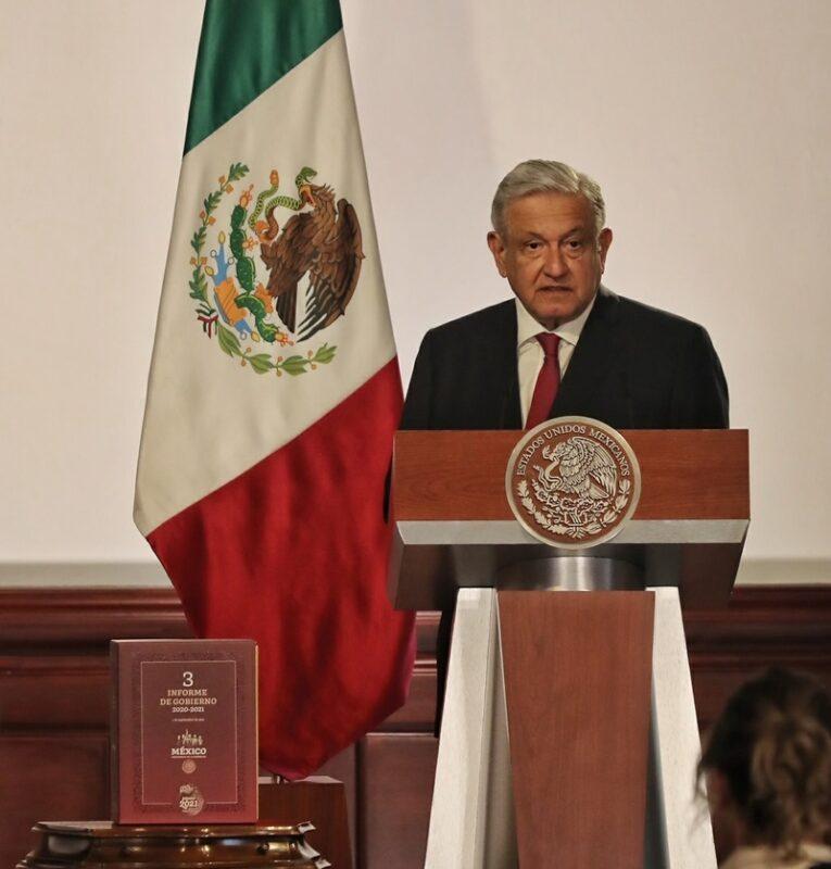 Publican Tercer Informe de AMLO en sitio web del Gobierno de México