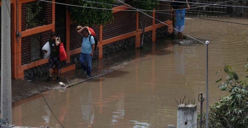 Gobernador Fayad pide a habitantes que viven cerca del Río Tula que desalojen la zona por riesgo de más inundaciones