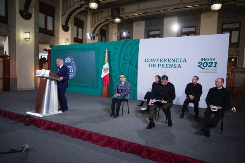 """Video  """"Basta de medidas coercitivas"""" frente a migración: López Obrador"""