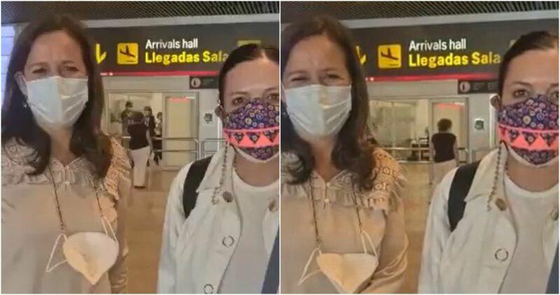 Margarita Zavala y Felipe Calderón, recibidos por Líderes Católicos en España. Felices al encuentro, dice