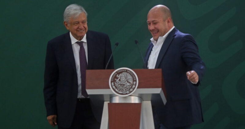 Video  Gobernador de Jalisco demanda equidad en aportaciones que regresa la Federación a esa entidad