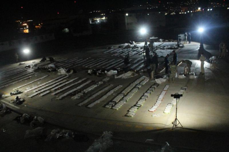 Ejecuta Semar en Ensenada el mayor decomiso del año de metanfetaminas