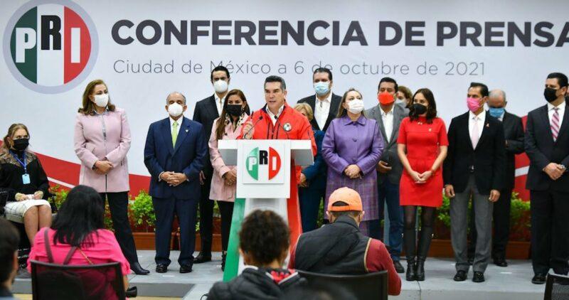 La 4T no dividirá al PRI con su reforma, afirma su presidente, Alejandro Moreno. Y destaca que Va por México no está en riesgo