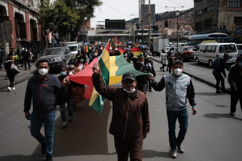 Acusa el presidente de Bolivia a la oposición de crear condiciones para un golpe de Estado