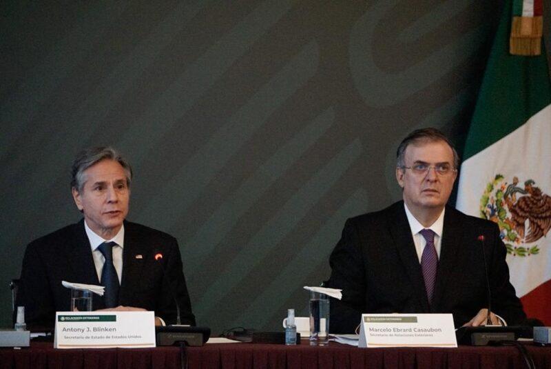 """México y EU dicen adiós a la Iniciativa Mérida. """"Es tiempo de nuevo acercamiento a la cooperación"""", afirma el Secretario de Estado, Anthony Blinken"""