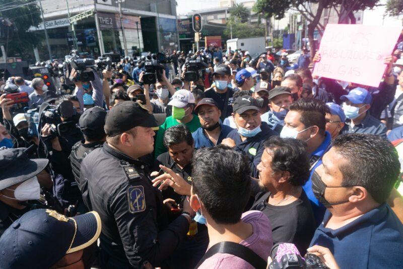 Video  Descarta AMLO desabasto de gas LP tras las protestas. Se puede ampliar el servicio de la empresa estatal Gas Bienesta