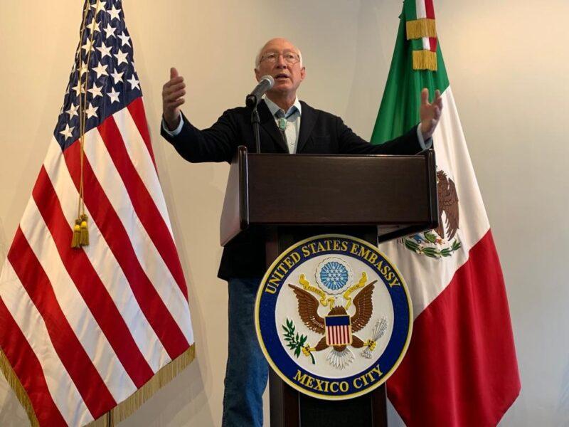 Tema central de la Casa Blanca: que la DEA vuelva a trabajar en México, afirma el embajador de EU