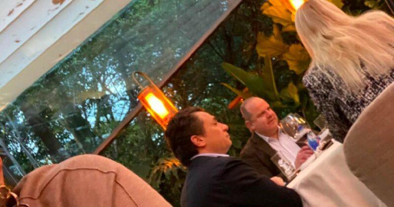 Video| Difunden FOTOS de Emilio Lozoya en restaurante de lujo de Ciudad de México