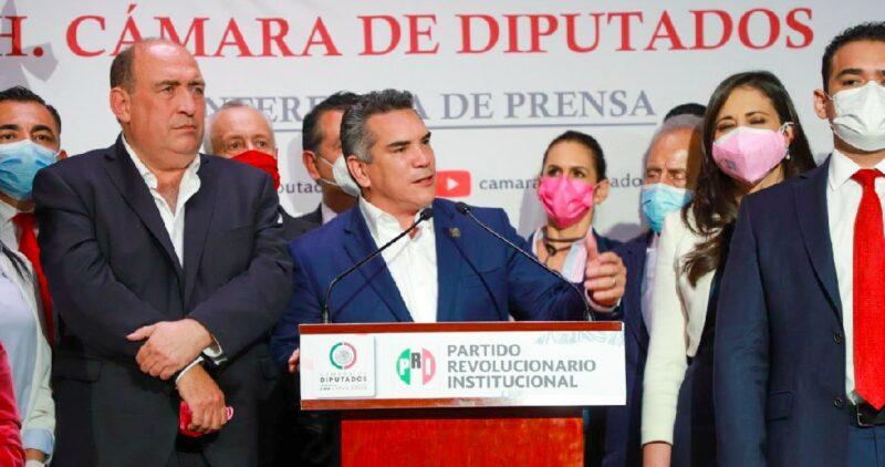EL PRI, entre el apoyo a la reforma eléctrica de AMLO o su permanancia en la alianza PAN-PRD