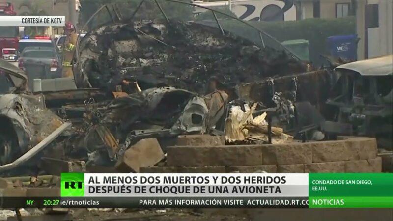 Videos| Al menos dos muertos y dos heridos tras estrellarse una avioneta cerca de una escuela